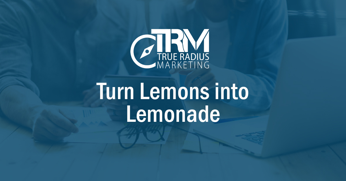 Turn Lemons into Lemonade